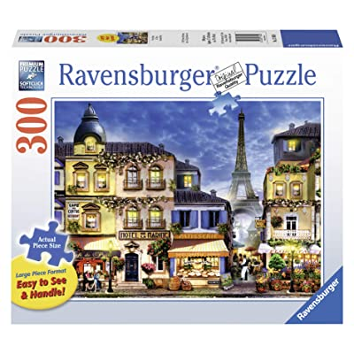 Ravensburger Pretty Paris Large Format 300 Piece Jigsaw Puzzle for Adults – Every Piece is Unique, Softclick Technology Means Pieces Fit Together Perfectly: Varios: Toys & Games