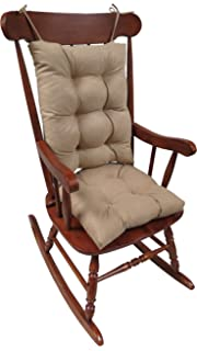 Klear Vu The Gripper Non Slip Rocking Chair Cushion Set Honeycomb, Tan