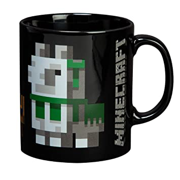 JINX Minecraft Llama Conga Line Keramiktasse, 325 ml