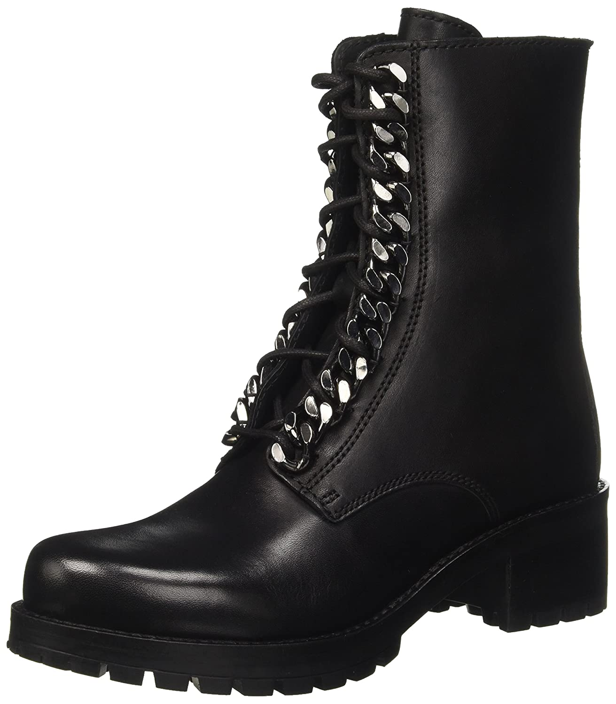 Cult Metallica Mid 1804 - Botas Militares Mujer36 EU|Negro (Black 999)