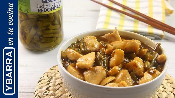Ybarra - Judías Verdes, planas, 660 ml: Amazon.es: Alimentación y ...