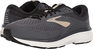 b2798c3ccdf Image Unavailable. Image not available for. Color  Brooks Men s Dyad 10 Grey Black Tan  9 ...