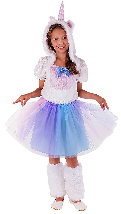 unicorno carnevale bambina  Costume per bambini da principessa degli unicorni; costume completo ...