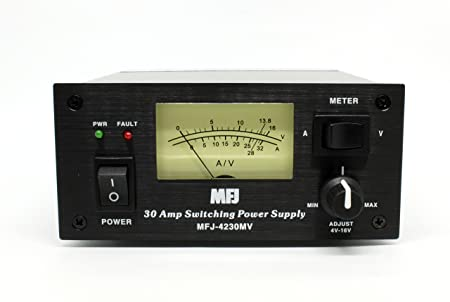 MFJ-4230MV MFJ4230MV MFJ4230-MV Original MFJ Switching Power Supply – 30 Amps, 13.8 VDC