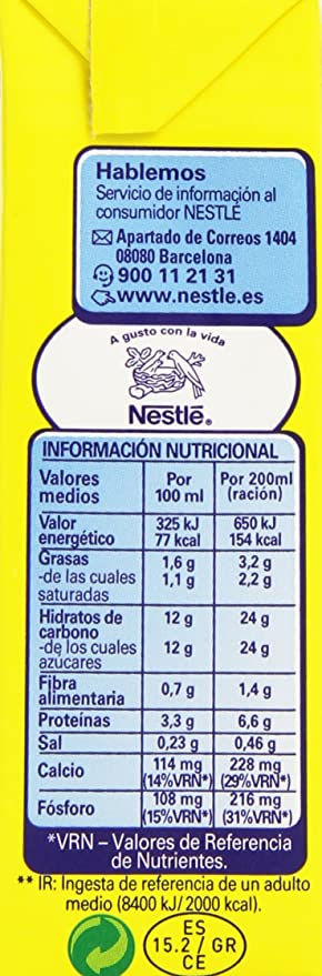 Nesquik Batido De Cacao - Pack de 3 x 20 cl - Total: 600 ml: Amazon.es: Amazon Pantry