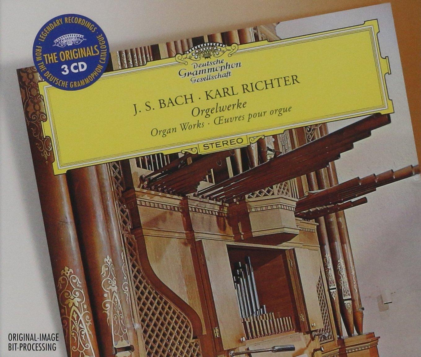 Bach: Organ Works: Karl Richter: Amazon.es: Música