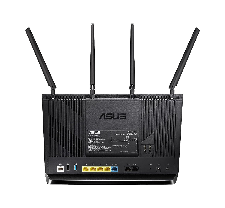 Asus DSL-AC87VG AC2400 VOIP Modem-Router: Amazon.de: Computer ...