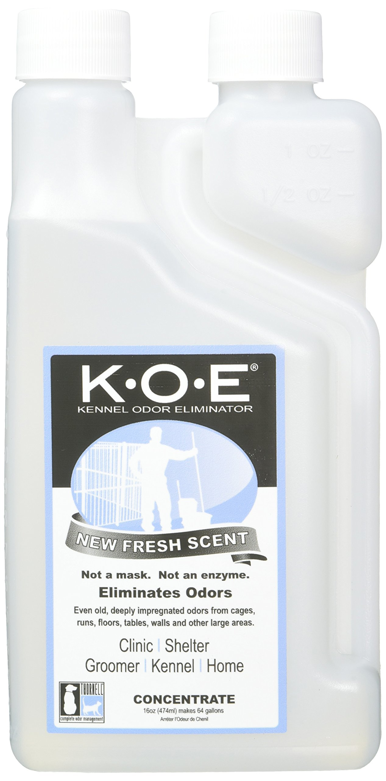 Thornell KOEFS-P K.O.E Kennel Odor Eliminator Fresh Scent Concentrate by THORNELL