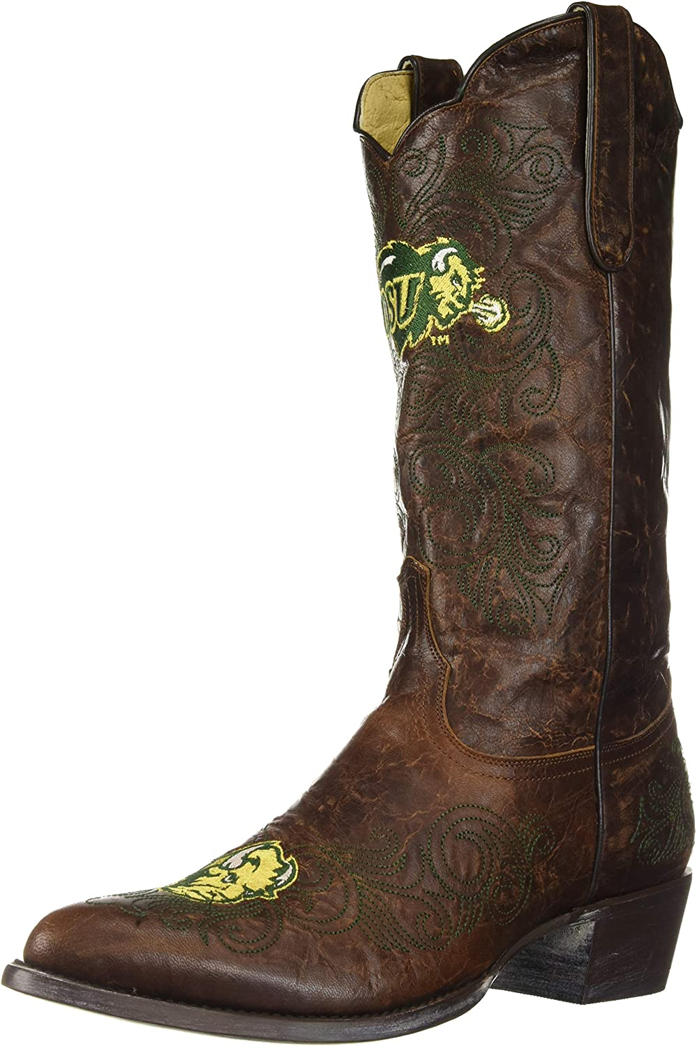 M Brass Gameday Boots NCAA Ladies 13 inch University Boot North Dakota US 11 B