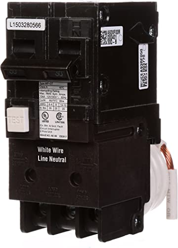 Murray MP230GFA 30 Amp 2-Pole GFCI Circuit Breaker with Self Test Lockout Feature
