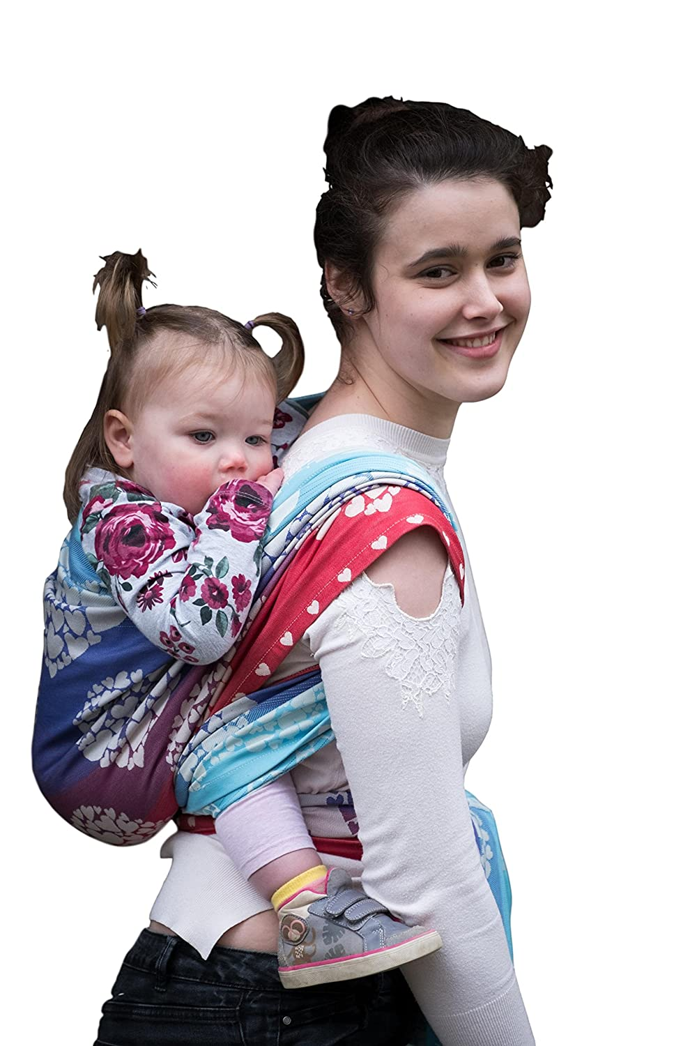 Joy and Joe Benevolence Allure Baby Woven Wrap Sling | Made in The UK | Boxed with Full Colour Instruction Booklet (M - 3.6m x 0.7m) Joy and Joe Ltd