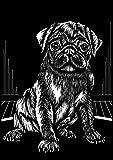 Reeves Scraperfoil Pug (Silver) by Reeves