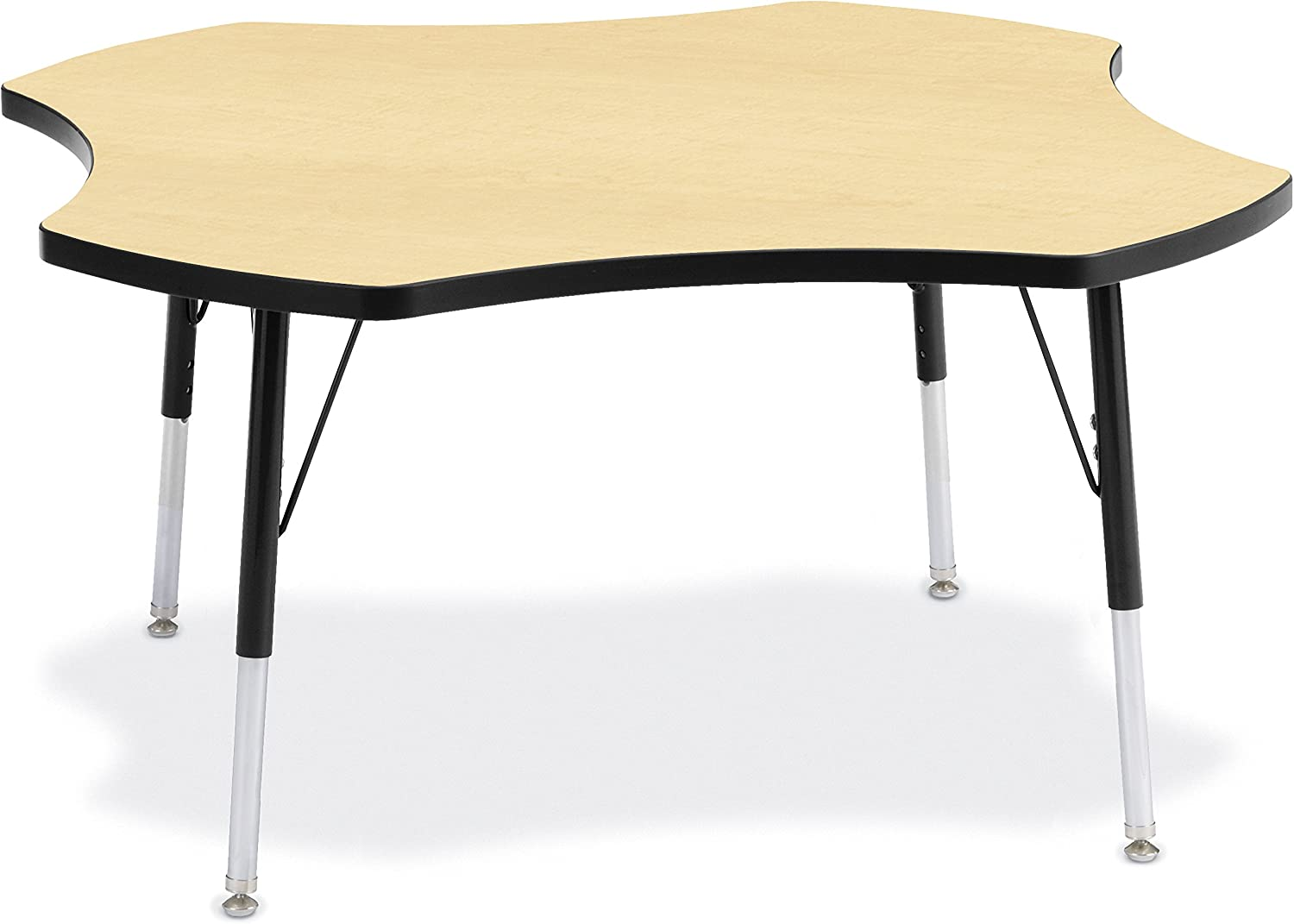 Gray//Green//Green A-Height Berries 6453JCA119 Four Leaf Activity Table 48