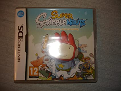 Super Scribble Nauts Nintendo Ds Juego En Espanol Multilingue