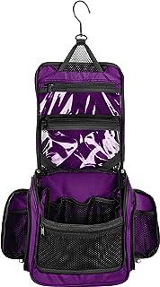 Medium Size Hanging Toiletry Bag with Detachable TSA Compliant Zipper  Pocket   Swivel Hook b3421d7961616
