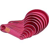Mino Jogo de Medidores Plástico com 12 Peças GS Internacional Rosa