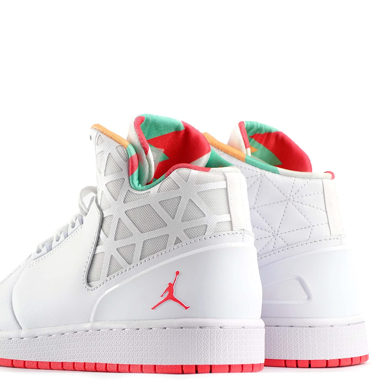 3b3be85de9fe Nike Jordan 1 Flight 3 Premium BG Girls Hi Top Trainers (3.5 UK)   Amazon.co.uk  Shoes   Bags