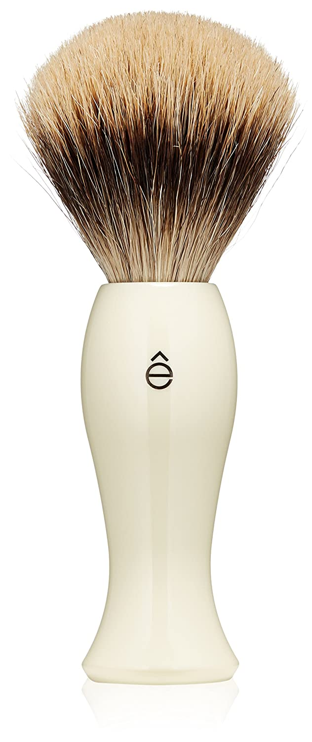 êShave Fine Badger Hair Brush Clear eShave 80008