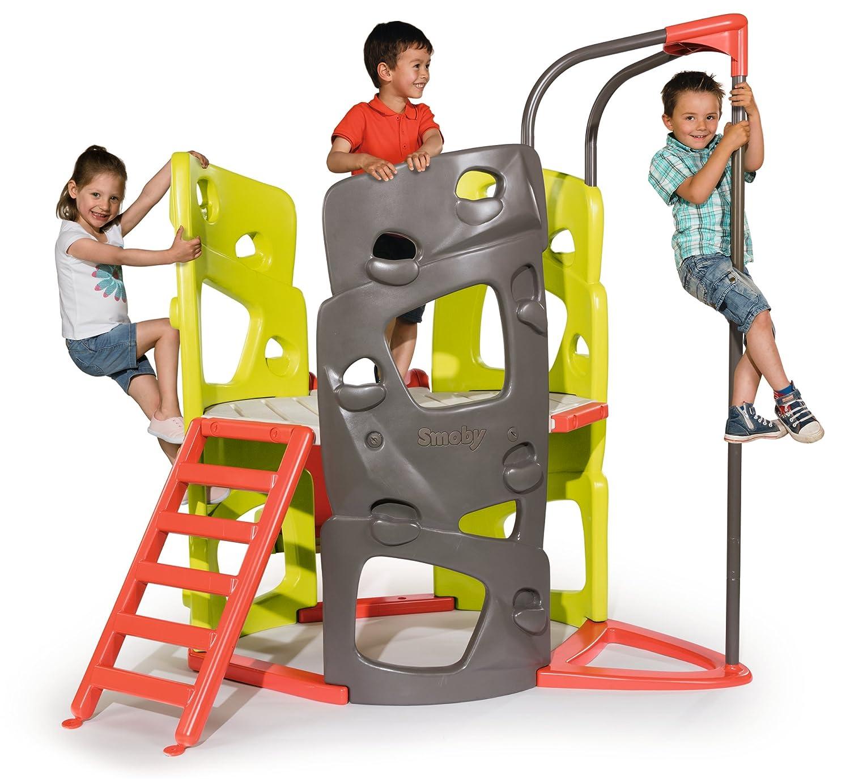 Smoby Kletterturm  - Smoby Spielturm mit Rutsche