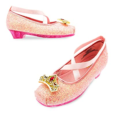 604c0364d2b6e Disney Aurora Costume Shoes for Kids - Sleeping Beauty Pink