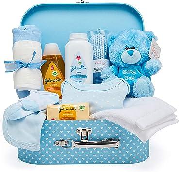 Baby Box Shop - Cesta regalo bebé niño para baby shower con todo ...