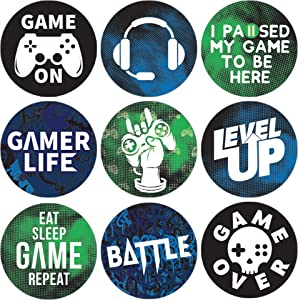 Video Game Birthday Party Favor Stickers - 180 Labels
