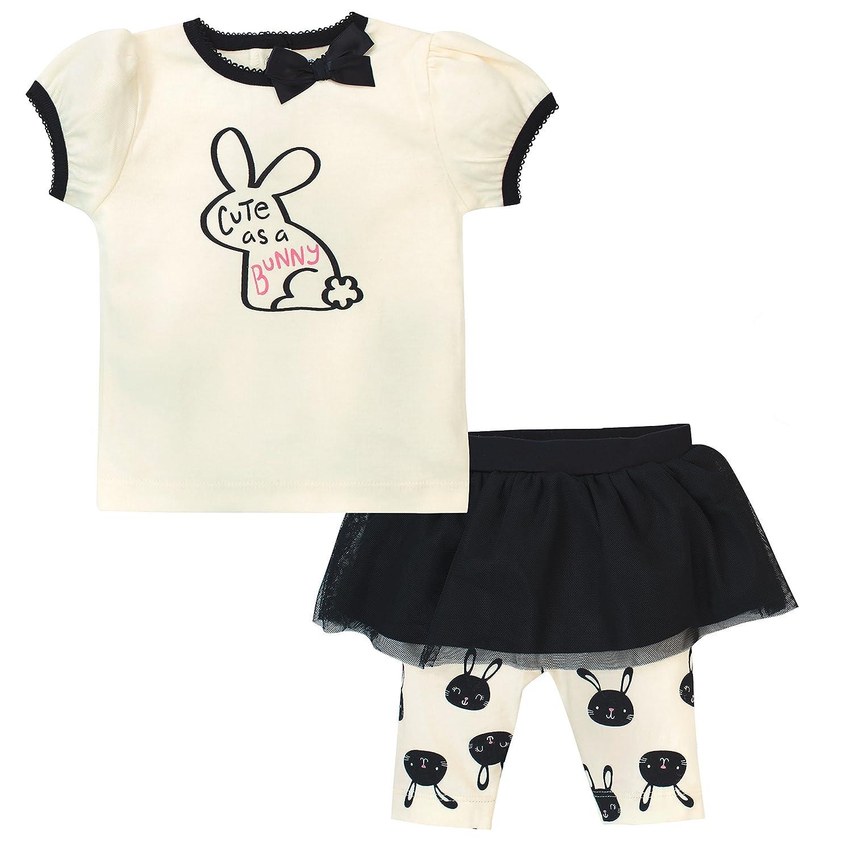 Gerber Girls Standard Shirt and Tutu Capri Set