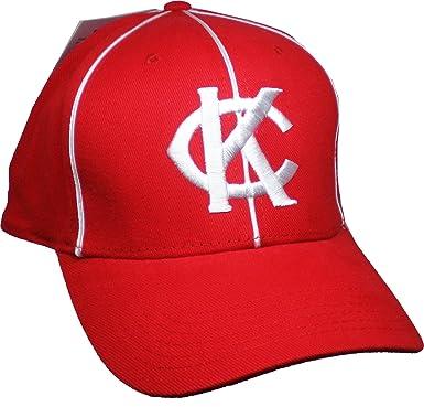 7abffa8ba7a4aa Image Unavailable. Image not available for. Color: Big Boy Kansas City  Monarchs 1949 Replica Mens Baseball Cap [Red - Adjustable]