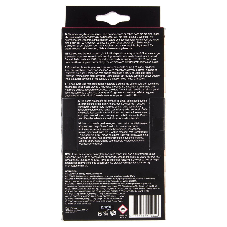 SENSATIONAIL KIT RASBERRY WINE: Amazon.es: Belleza