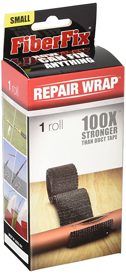 FiberFix 1u0026quot; Repair Tape Wrap   Fix Anything With Permanent Waterproof  Repair Tape 100X Stronger
