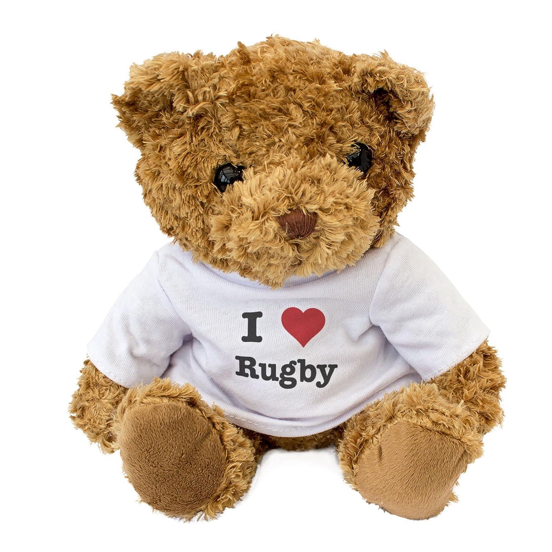 Nouveau/-/I Love Rugby/-/Teddy Bear/-/mignon et c/âlin/-/Cadeau Anniversaire No/ël
