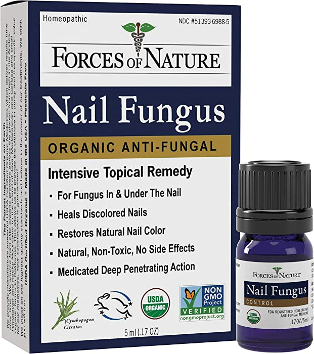 Top 9 Forces Of Nature Toenail