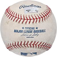 $49 » Astros Game-Used Baseball vs. Los Angeles Dodgers on August 13, 2007 - MLB Game Used Baseballs