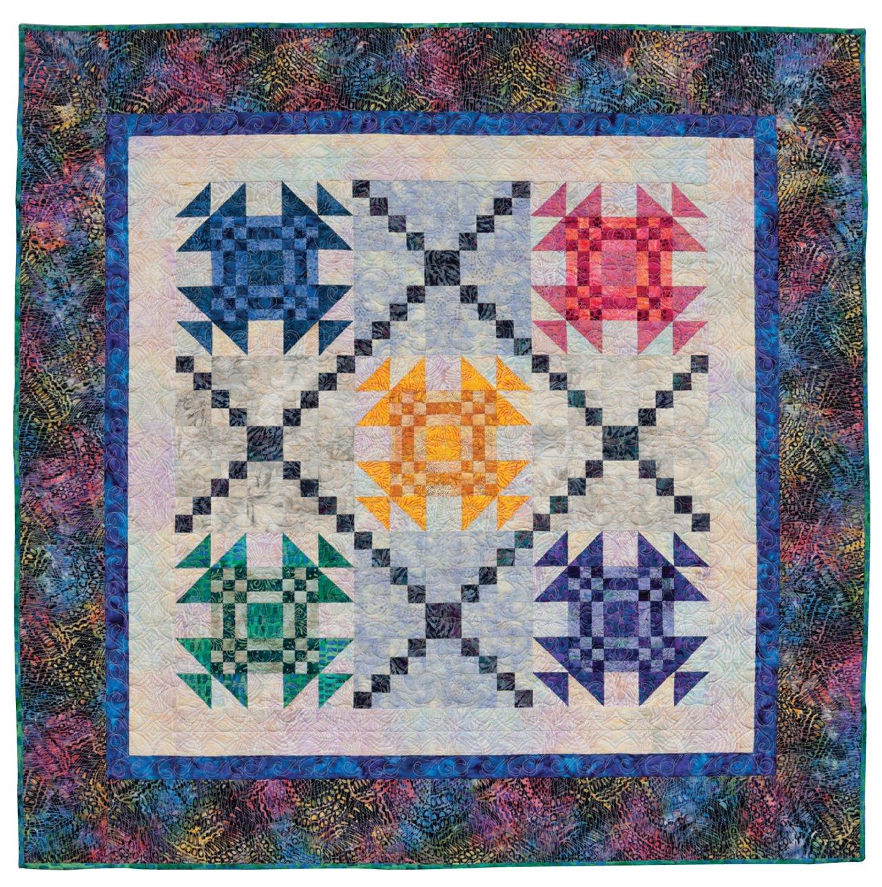 patchwork palette no fail color plans for captivating quilts donna lynn thomas