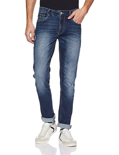 US Polo Men's Tapered Fit Jeans Men's Jeans at amazon