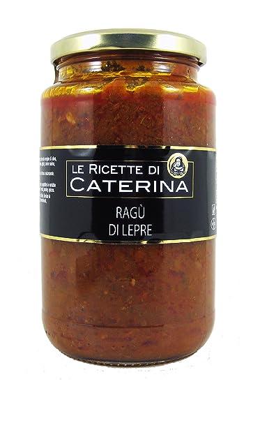 Ragù de Liebre de cocción lenta - Mejores ragout Gambero Rosso (500 g)