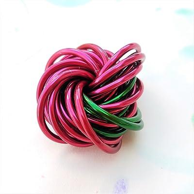 Möbii Apple, Medium Mobius Fidget Toy, Teacher Appreciation Gift, Stress Ball, Discreet and Quiet Classroom Fidget