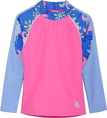 Tuga Girls Two-Piece Swim Diaper Bathing Suit UPF 50 Sun Protection Swim Suit