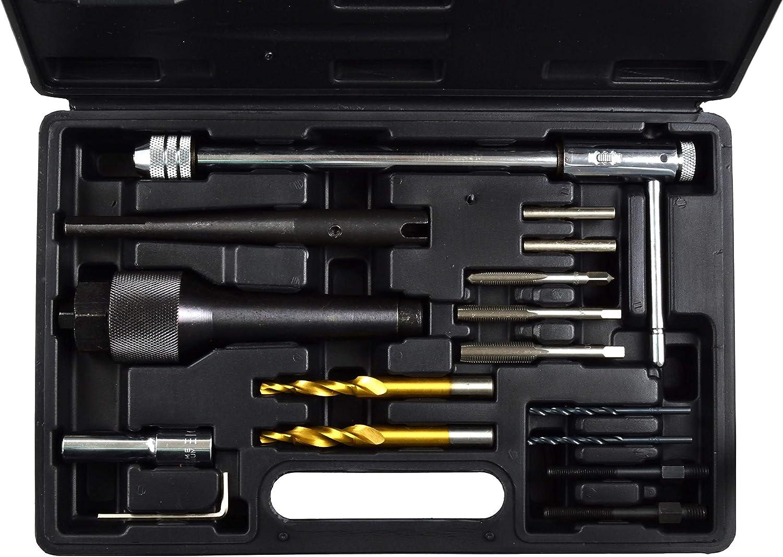 Kit Strumenti di Rimozione Candelette 8-10mm Utensili di Estrazione Candelette
