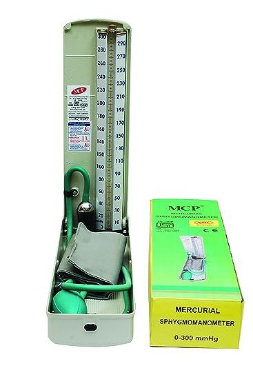Amazon.com: MCP Mercurio Presión Arterial Aparato Deluxe ...