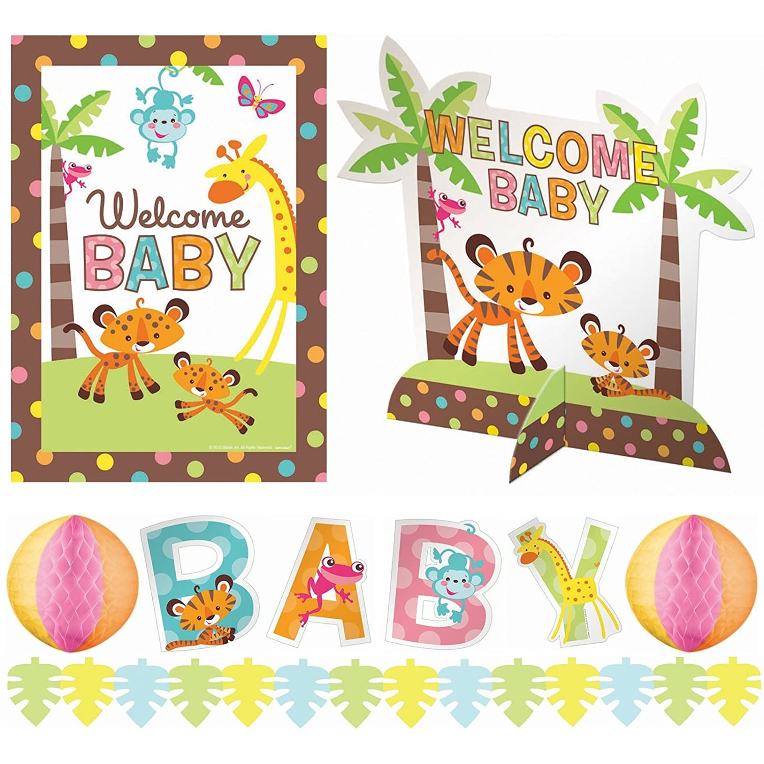 Amazon Adorable Fisher Price Baby Shower Party Jungle Animal