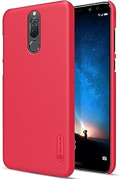 Funda® Firmness Smartphone Funda Carcasa Case Cover Caso + 1 Pantalla Protector para Huawei Mate 10 Lite/Huawei Honor 9i/Huawei Nova 2i/Huawei P9 Lite Mini/Huawei Enjoy 7(Rojo): Amazon.es: Electrónica