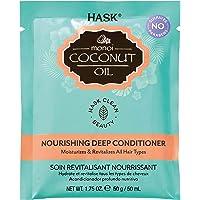 HASK Monoi Coconut Oil Nourish Deep Conditioner Packet, 50 grams
