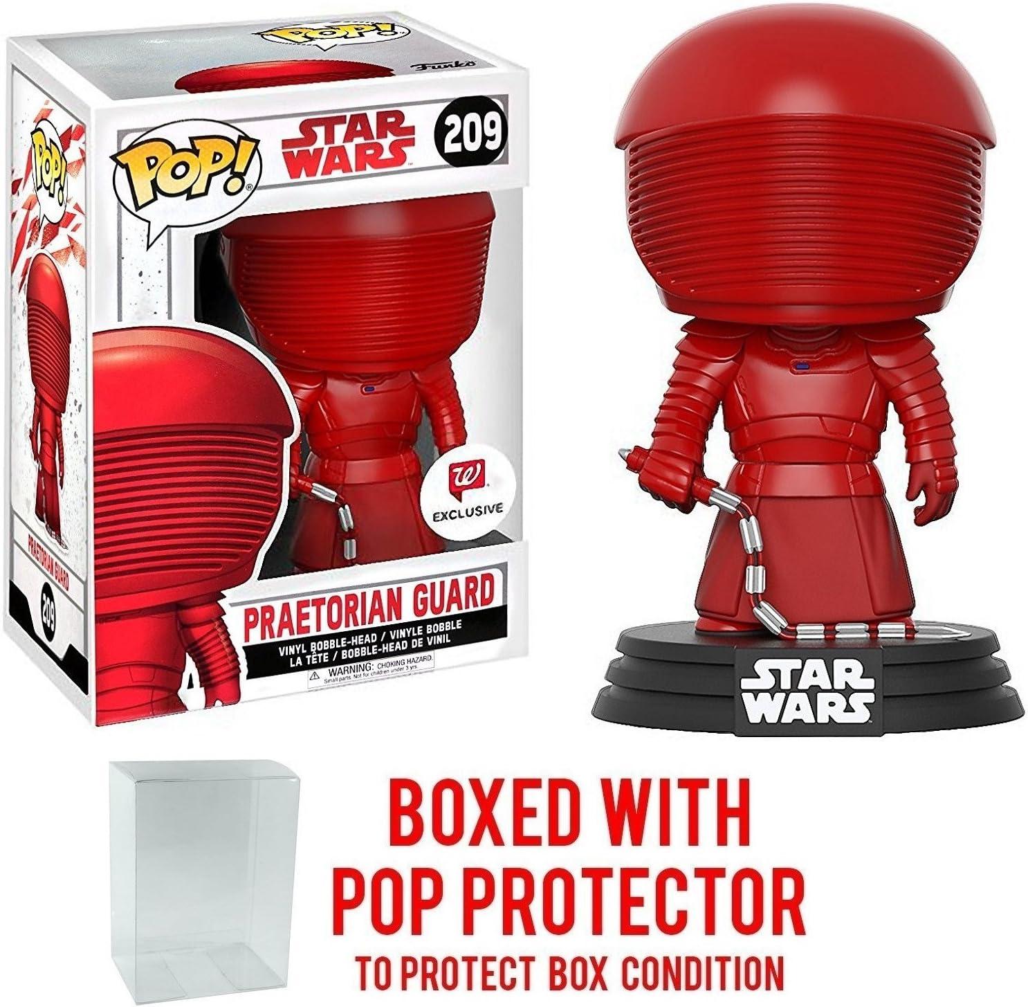 Funko Pop! Star Wars: The Last Jedi - Praetorian Guard with Whip #209 (Walgreens Exclusive) Vinyl Figure (Bundled with Pop BOX PROTECTOR CASE)