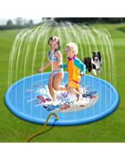 """NOUVCOO Splash Play Mat, Outdoor Sprinkle Water Play Mat 68"""" Toddler Water Toys Summer Outdoor Swimming Pool for Toddlers"""