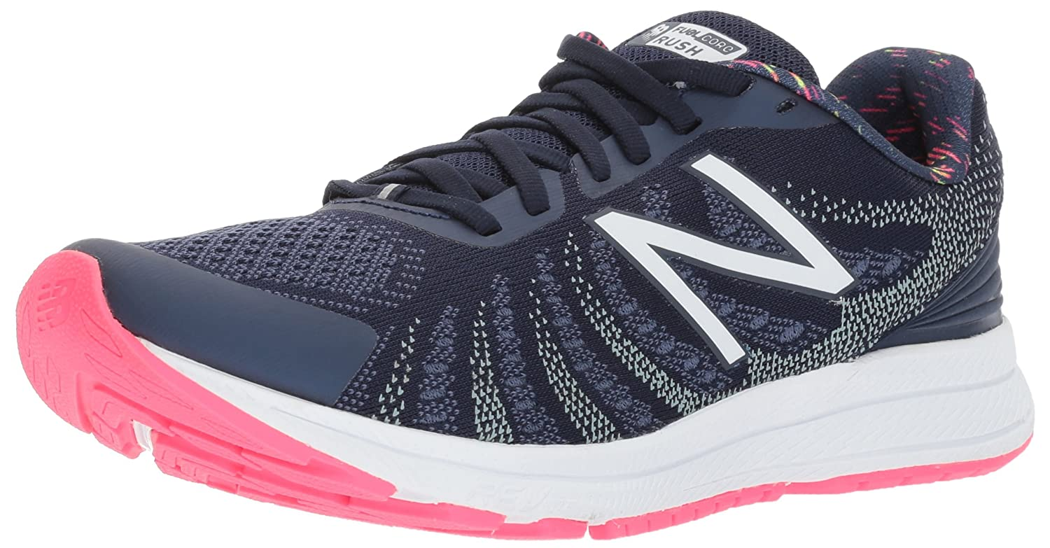 New Balance Women's Rushv3 Running-Shoes B01N43LYG9 7 D US|Pigment/Alpha Pink