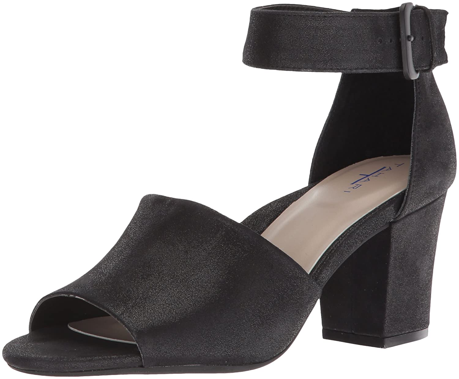 Tahari Women's Tt-Pennie Heeled Sandal B0773JTWPW 6 B(M) US|Black