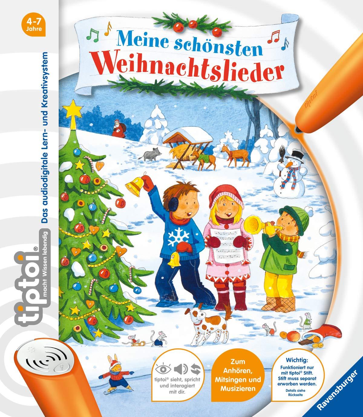 Weihnachtslieder Gratis Hören.Tiptoi Meine Schönsten Weihnachtslieder Amazon De Cornelia