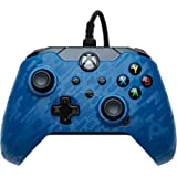 PDP Gaming Wired Controller: Revenant Blue - Xbox Series X S, Xbox One, Xbox, Windows 10, 049-012-NA-CMBL - Xbox Series X