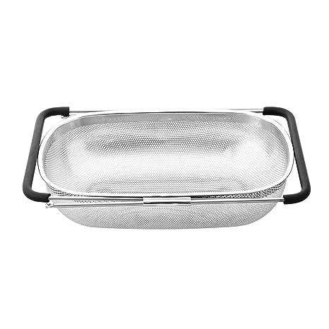 Amazon.com: Cook N Home Colador microperforado para colocar ...